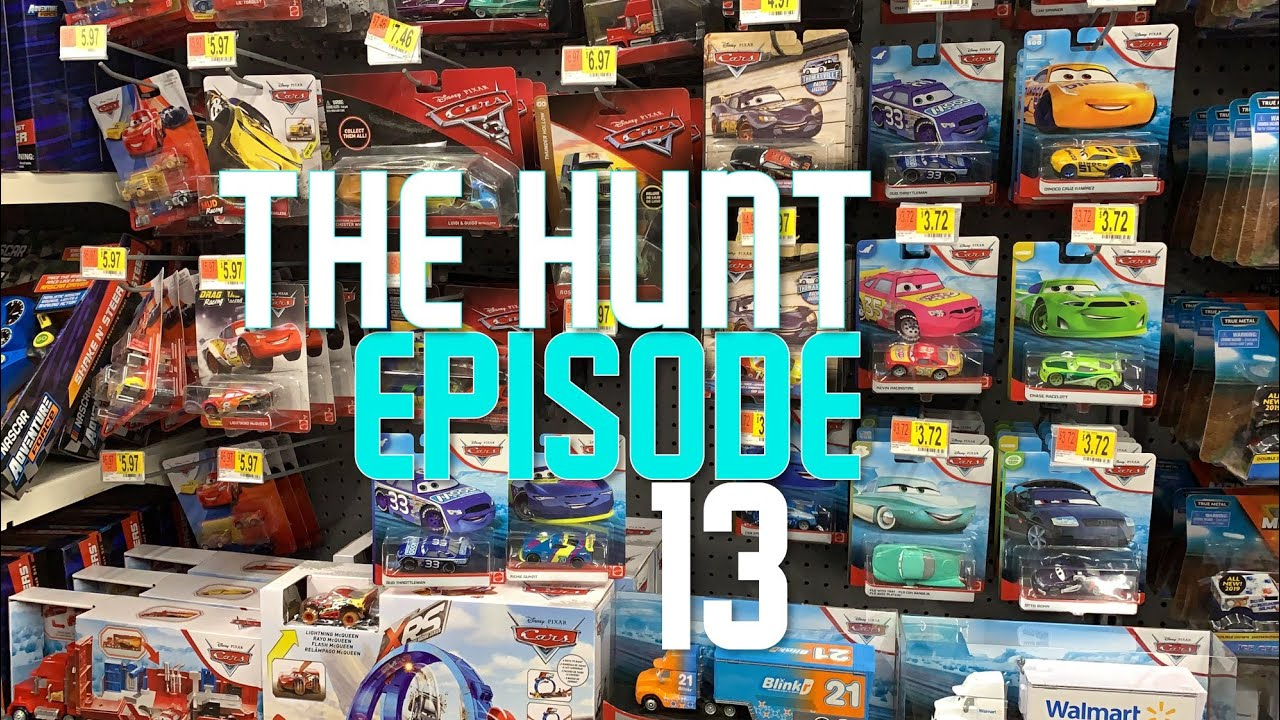 The Hunt Episode 13 Late In Store Walmart Target Disney Cars