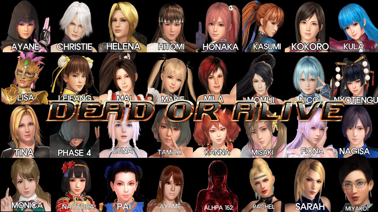 2018 DEAD OR ALIVE 5 LAST ROUND STEAM: ALL CHARACTER ALL DLC UNLOCKED  FREE!!! READ DESCRIPTION!