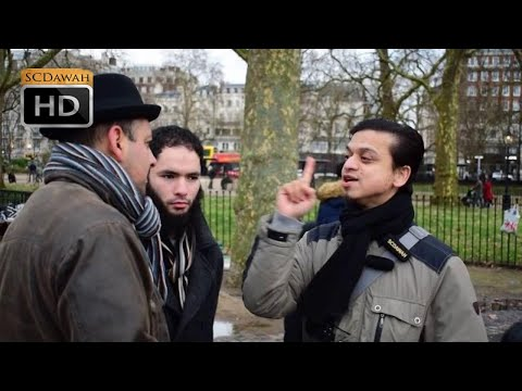 Only One Path! Mansur vs Trinitarian  l Speakers Corner l Hyde Park