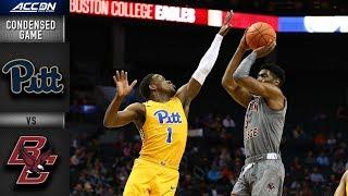 Pittsburgh vs. Boston College  Condensed Game | 2018-19 ACC Basketball