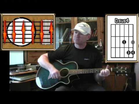 Leaving On A Jet Plane - John Denver - Acoustic Guitar Lesson (easy ...