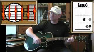 Leaving On A Jet Plane - John Denver - Acoustic Guitar Lesson (easy)