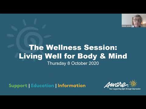 The Wellness Session: Living Well For Body & Mind   Aware