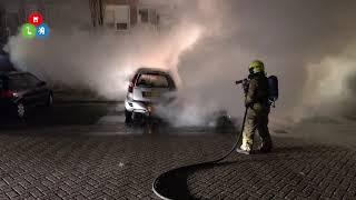 Twee auto's uitgebrand in Lotharingenstraat Alkmaar