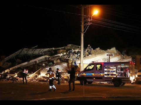 بالفيديو.. لحظة وقوع زلزال تركيا الذي بلغت قوّته 6,8 درجات على مقياس ريختر