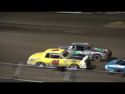Albert Auto Night Hobby Stock feature Independence Motor Speedway 9/17/16