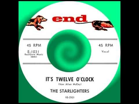 IT'S TWELVE O'CLOCK, The Starlighters, (Rare) End # 1031  1958