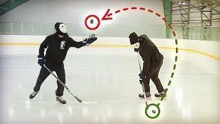 КАК ПОДНЯТЬ ШАЙБУ СО ЛЬДА?! | Хоккей