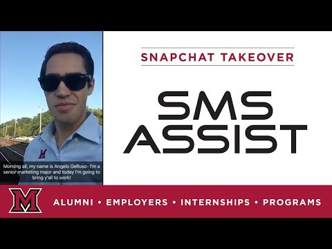 Angelo's Internal Marketing Internship for SMS Assist in Chicago, IL