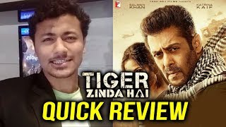 Tiger Zinda Hai का QUICK REVIEW | 2017 की Blockbuster Film | Salman Khan | Katrina Kaif
