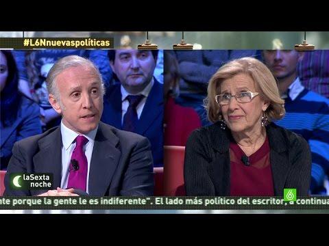"""laSexta Noche   Manuela Carmena: """"Monedero no supo explicar sus problemas con Hacienda"""""""