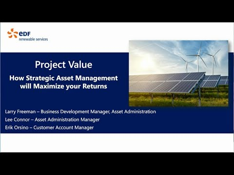 EDF RS Project Value Webinar