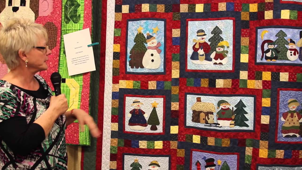 Free Christmas Quilt Pattern Ideas - YouTube : quilt patterns free download - Adamdwight.com