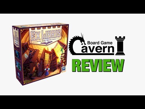 "Board Game Cavern reviews ""Ex Libris"""