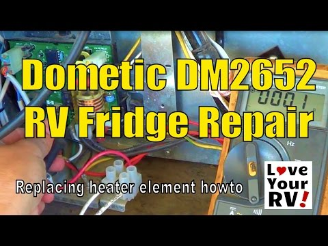 Dometic 2652 Rv Trailer Fridge Diagnostic And Repair