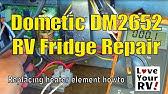DIY -Troubleshooting RV Refrigerators 120 v AC Heat Element