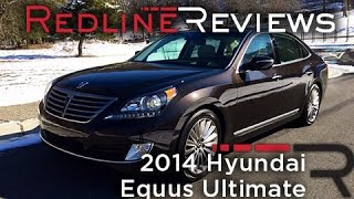 2014 Hyundai Equus Ultimate Redline Review смотреть