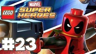 LEGO Marvel Superheroes - LEGO BRICK ADVENTURES - Part 23 - Ghost Rider\! (HD Gameplay Walkthrough)