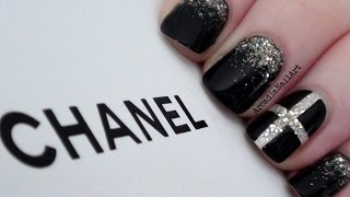 Chic Chanel Inspired Nails  |  Arcadianailart