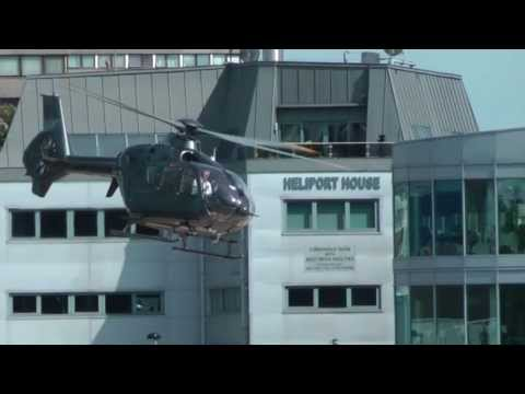 LONDON HELIPORT, A BUSY SUNDAY!  JUNE 30 2013