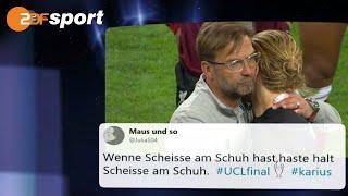 Die Netzreaktionen zum Champions League Finale 2018|das aktuelle sportstudio- ZDF