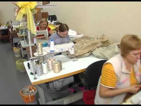 Изготовление чехла на диван. Маркиза, сеть салонов штор (Видео №4)