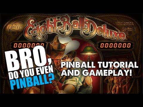 """Eight Ball Deluxe pinball (Bally, 1980) 2/4/16 - """"Bro, do you even pinball?"""""""