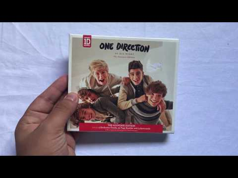 Loja Glory Shop: One Direction - Up All Night (The Souvenir Edition) | UK [Unboxing]