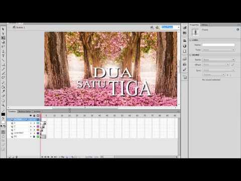 #1 Tutorial Vlog - Membuat Killer Presentasi Dengan Menggunakan Adobe Flash CS6