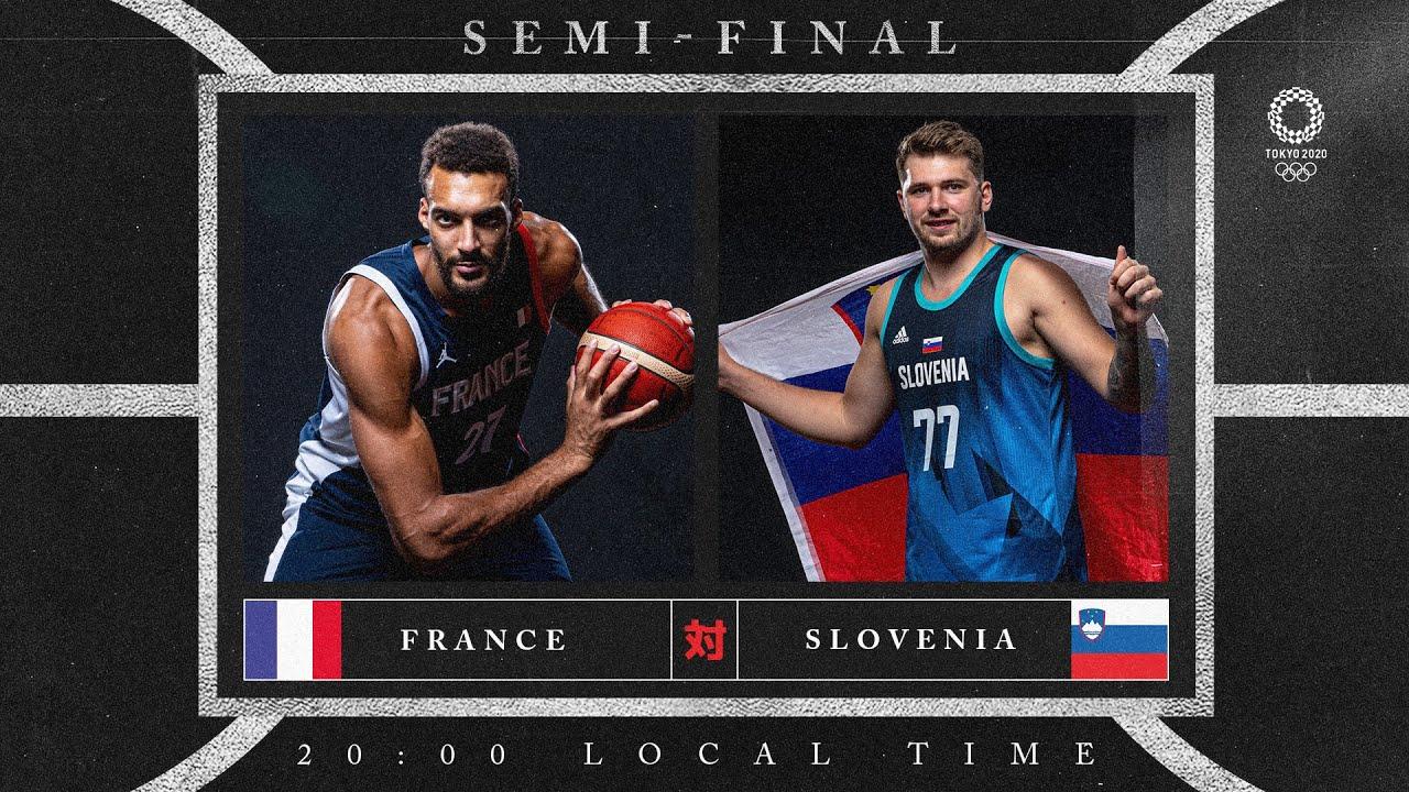 France v Slovenia - Watch along party | #Tokyo2020 ⚡ #Basketball