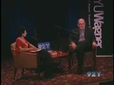 Salman Rushdie and Irshad Manji at the 92nd Street Y