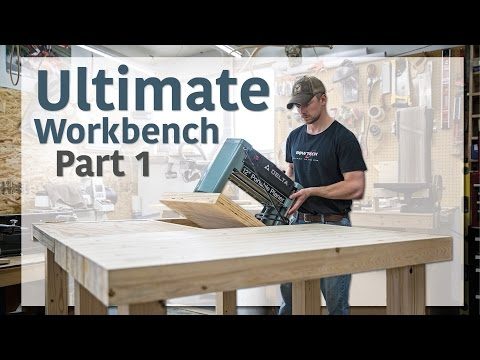 Double Flip Top Workbench (Part 1 of 3)