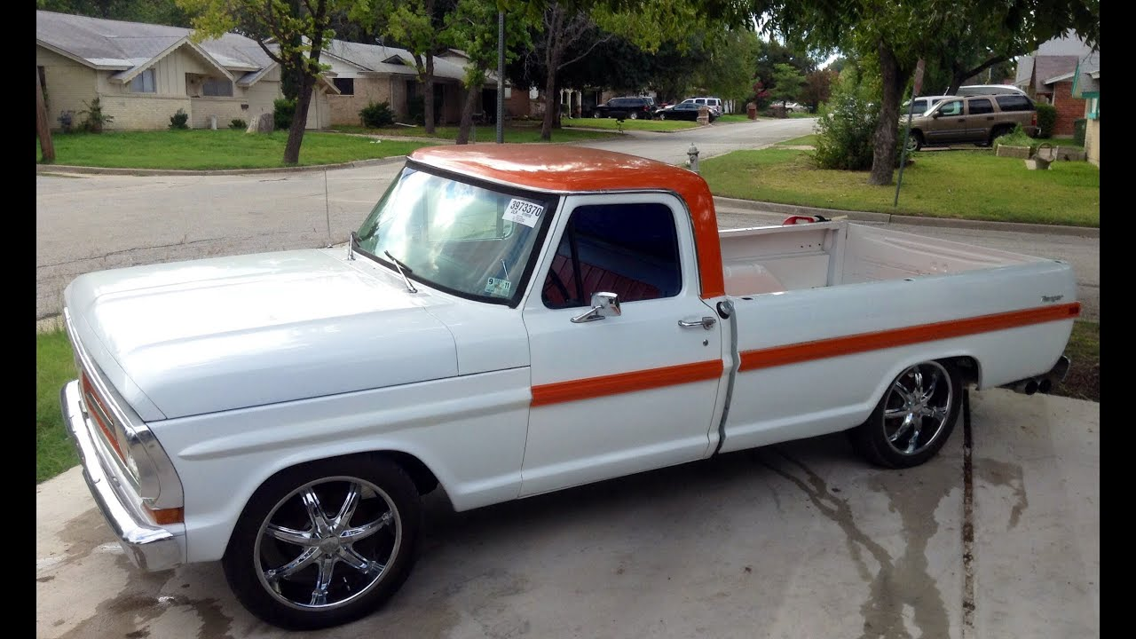 Restored 1971 Ford Truck For Sale Arlington Texas
