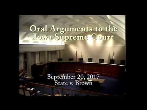 16–0563 State of Iowa v. Danielle Brown, September 20, 2017
