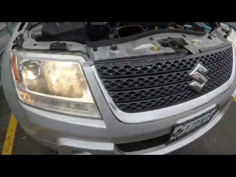 How to Replace Headlight Bulbs in Suzuki Grand Vitara