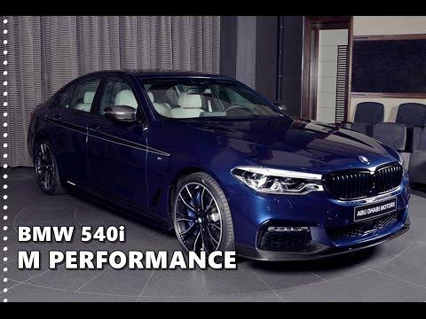 2017 Bmw 540i M Performance In Mediterranean Blue Youtube