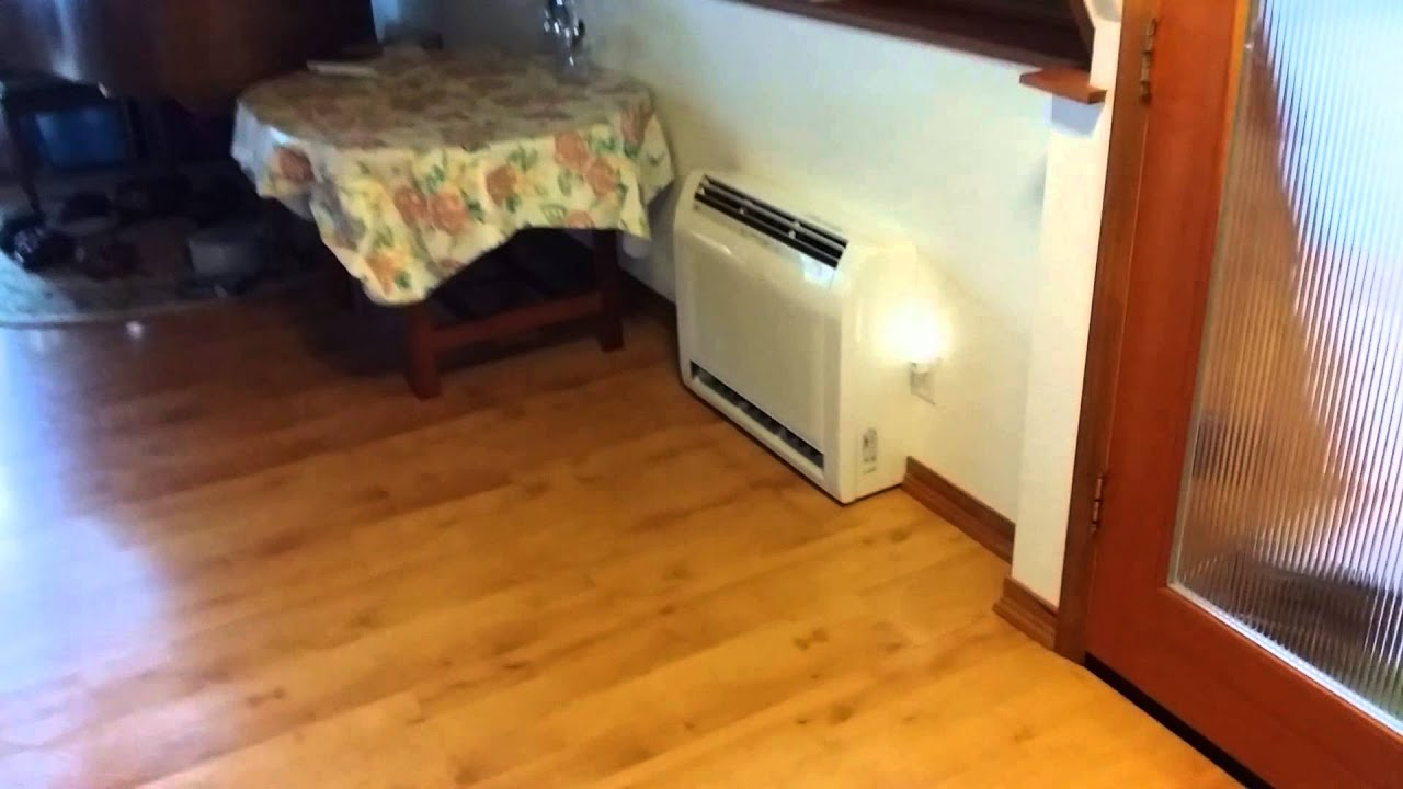 Fujitsu 8 Head 4 Ton Ductless Multi Youtube