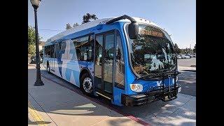 Zero Emission Bus (ZEB) Microgrid, Energy Storage and Solar Infrastructure