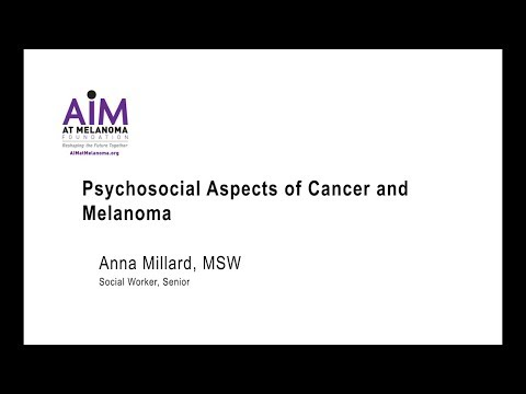 Psychosocial Aspects of Cancer and Melanoma