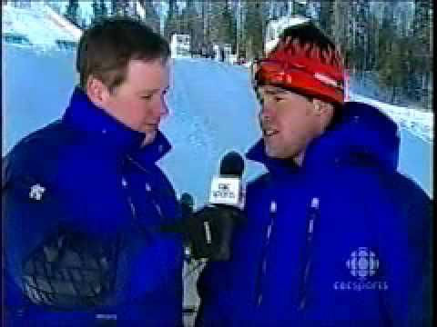 Ryan Blais-2003 Canada Winter Games, Broadcast Debut