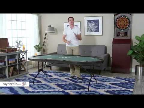 Fat Cat Folding Poker Table - Product Review Video