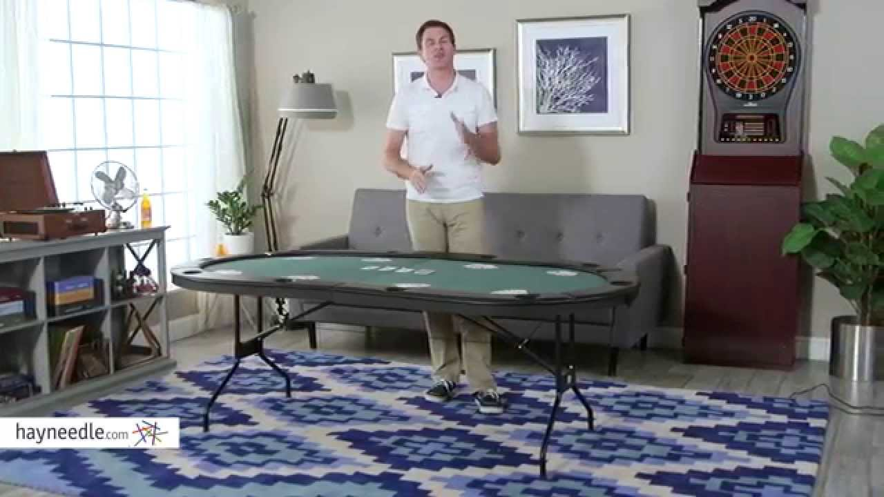 Fat Cat Folding Poker Table   Product Review Video   YouTube