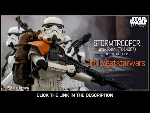 Rogue One Star Wars Hot Toys Jedha Patrol TK-14057 Stormtrooper 16 Scale Movie Figure Review