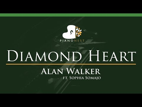 alan-walker---diamond-heart-(feat.-sophia-somajo)---lower-key-(piano-karaoke-/-sing-along)
