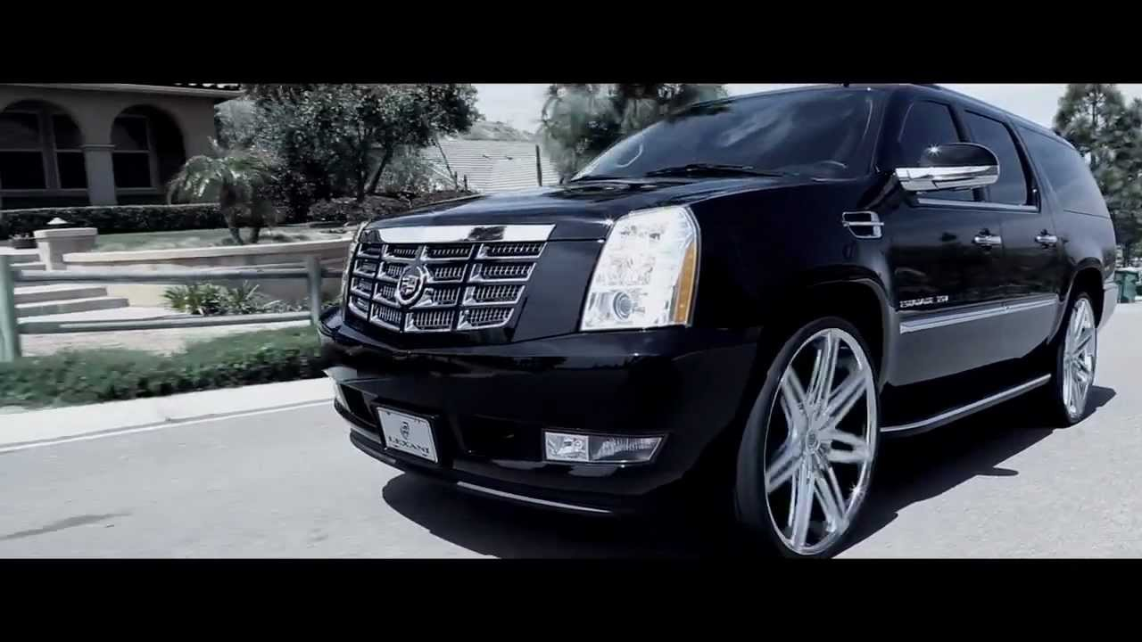 2012 Cadillac Escalade Platinum For Sale >> 2012 Cadillac Escalade ESV with Lexani 28' Johnson II W... | Doovi