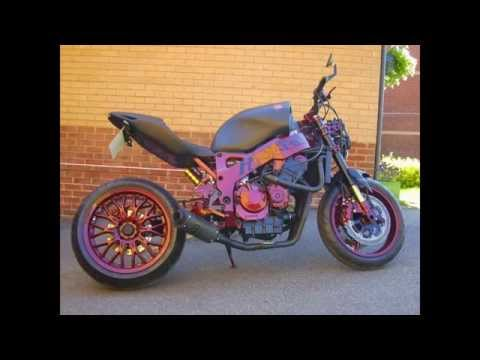 The Punisher Streetfighter Complete Build Honda CBR900