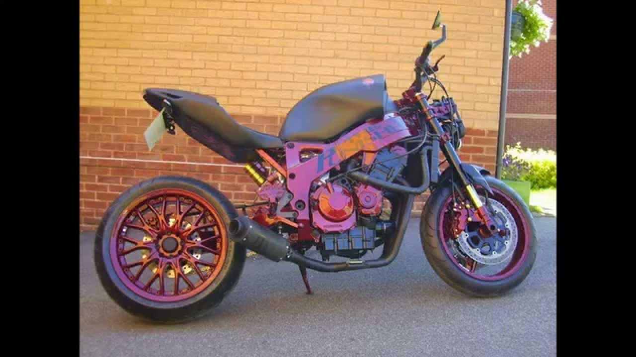 The Punisher Streetfighter Complete Build Honda CBR900 Sixth Gear Motorcycles