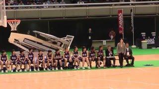 2016 女子決勝 埼玉vs長崎 選手紹介 ジュニアオールスター 中学バスケ