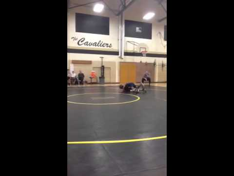 Micah Williams Wrestling Match