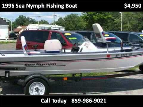 hqdefault 1996 sea nymph fishing boat used cars berea ky youtube Sea Nymph Fishing Boats at bayanpartner.co